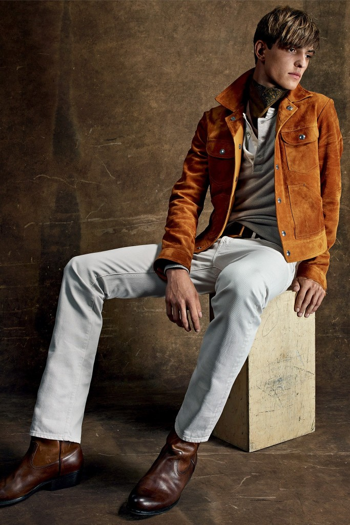 Texan-tinged look from Ford's spring-summer 2015 collection, from Vogue.com.
