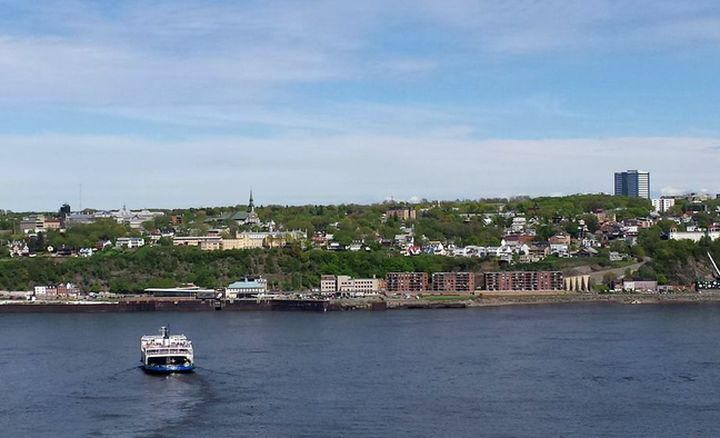 Quebec City on the St. Lawrence River. Image by S Travel.